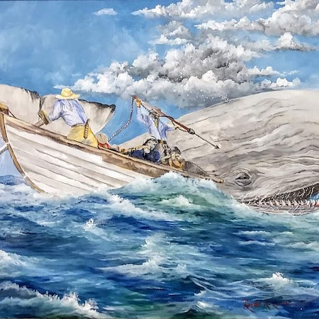 moby dick ronald lunn